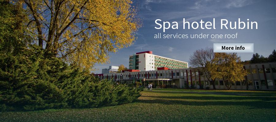 Spa hotel Rubin - Spa Dudince Slovakia