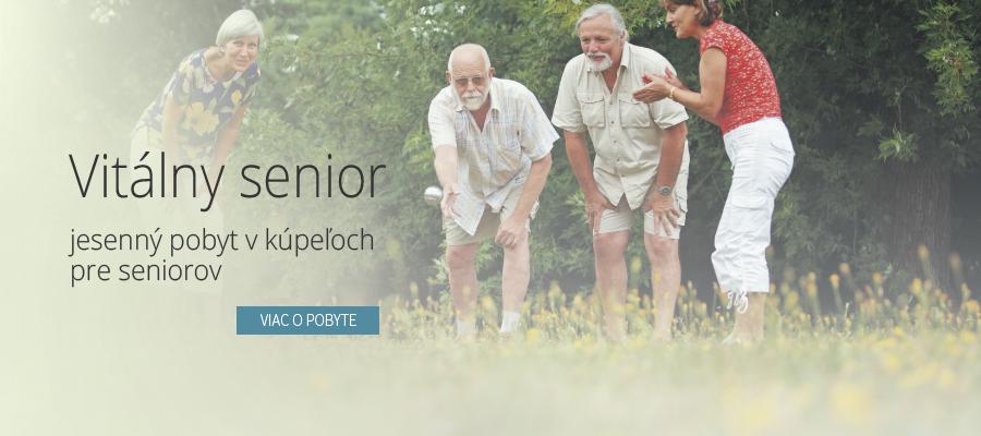 Liečebný pobyt pre seniorov - Kúpele Dudince