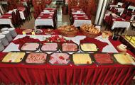 Kúpele Dudince - raňajkový bufet