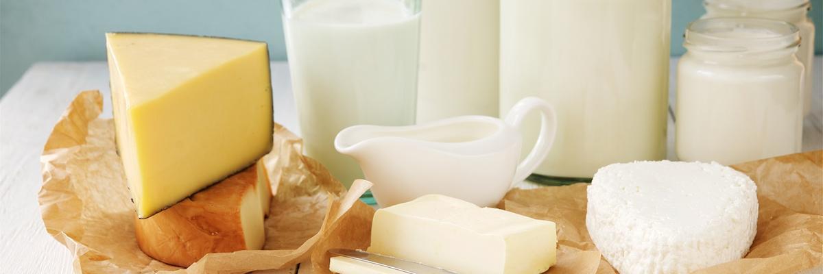 Mliečne výrobky - Kúpele Dudince