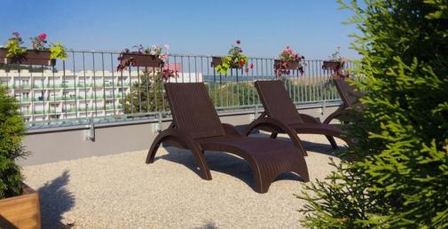 Slnečná terasa Smarags - Kúpele Dudince