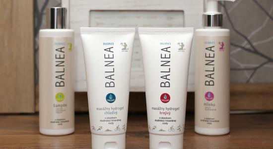 Balnea kozmetika z dudinskej vody