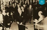 Otvorenie balneoterapie 28. 10. 1970 - Kúpele Dudince