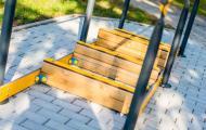 Chodník naboso - Fitpark Smaragd