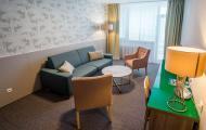 Liečebný dom Smaragd - apartmán obývačka