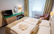 Liečebný dom Smaragd - apartmán spálňa
