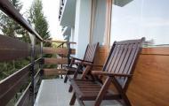 Liečebný dom Smaragd - balkón