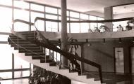 Točité schodisko vo vstupnej hale Rubín - Kúpele Dudince