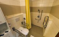 Izba Smaragd - bezbariérová kúpeľňa